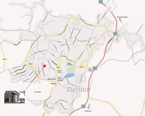 mapaApartmanaDaks